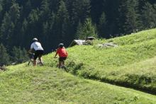 Mountainbike in Bormio