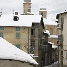Via de Simonicon la neve